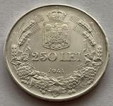 250 Lei 1941 TPT, Argint, Romania