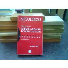 Niculescu Dictionar german-roman roman-german - Ioan Lazarescu