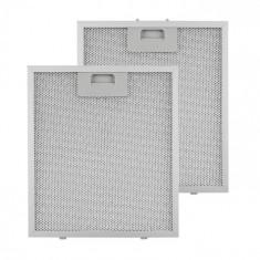 Klarstein KLARSTEIN, filtru de grăsime, filtru de schimb, aluminiu, 25,8 x 29,8 cm, 2 bucăți, accesorii
