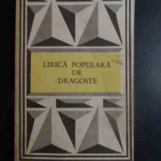 Lirica Populara De Dragoste - Necunoscut ,543581