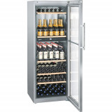 Vitrina frigorifica Liebherr Premium WTPes 5972, 528 l, 6 rafturi, Inox