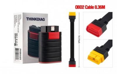 Thinkdiag Easydiag 4.0 + soft 2020 + update 1 an + prelungitor OBD2 foto