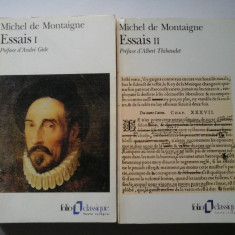 ESSAIS I+II (ESEURI) - MONTAIGNE - In limba franceza