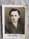 Foto  DOBRA SCHWRTZBERG anii 30-40 Opera Romana Bucuresti semnatura 8 x 6 cm