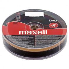 Set 10 DVD-R Maxell 4.7GB inscriptibil la 16X