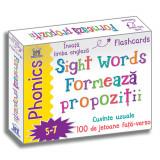 Sight words - Formeaza propozitii - Jetoane Limba Engleza | Fran Bromage