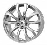 Jante MERCEDES C-KLASSE AMG 8J x 18 Inch 5X112 et45 - Rc Design Rc23 Ks Kristallsilber - pret / buc, 8, 5