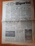 Sportul 30 octombrie 1981-inter.mircea luceascu,antrenorul nationalei de tineret