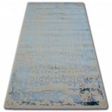 Covor acril Manyas 0920 fildeş si Albastru, 240x350 cm