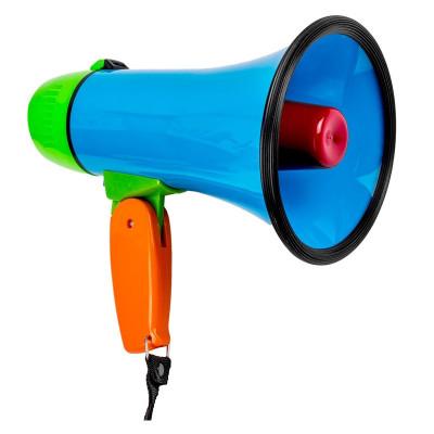 Megafon cu maner pliabil, 10 W, Multicolor foto
