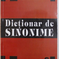 DICTIONAR DE SINONIME de ANGELA ICONARU , 2010