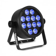 Beamz BAC304, ProPar, 12 x 8 W, diode LED RGBW 4 în 1, întunecare, telecomandă