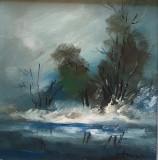 Tablou ulei (15/15 )- IARNA