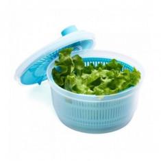 Uscator salata 20.5 cm culoare :albastru dimensiune: 20.5x20.5x12 cm