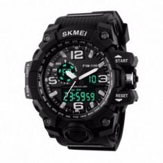 Ceas Barbatesc SKMEI CS907, curea silicon, digital watch, Functii- alarma, ora, data, cadran luminat, rezistent 3ATM foto