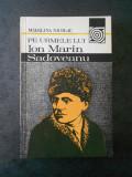 MADALINA NICOLAU - PE URMELE LUI ION MARIN SADOVEANU