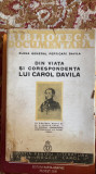 DIN VIATA SI CORESPONDENTA LUI CAROL DAVILA . ELENA GENERAL PERTICARI DAVILA1935