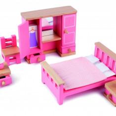Mobilier dormitor pentru casuta papusii PlayLearn Toys