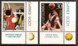 Yugoslavia 2001 Basketball & Volleyball Winner, MNH S.099, Nestampilat