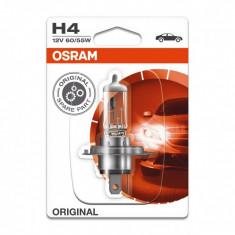Bec auto cu halogen Osram, 60/55 W, P43T, soclu H4