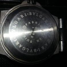 ceas de mana automatic BVLGARI,Ceas vintage de colectie,stare foto-functi,T.GRAT