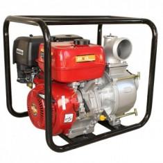"Motopompa SCWT-100, Debit apa 90 mc/h, Inaltime pompare 35 m, 4"", benzina"