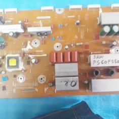 SAMSUNG PS60F5500AK Plasma sparta,module de vanzare