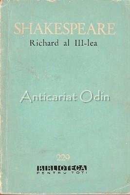 Richard Al III-Lea - William Shakespeare