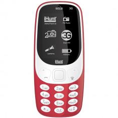 Solid 3G Dual Sim Rosu