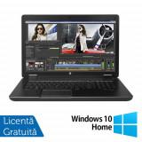 Laptop Refurbished Hp Zbook 17 G2 (Procesor Intel® Core™ i7-4910MQ (8M Cache, up to 3.90 GHz), 15inch, 32GB DDR3, 256GB SSD, DVD-RW, Display LED, Inte