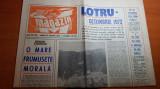 magazin 21 octombrie 1972-articol si foto despre lotru