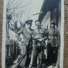 Soldati romani in ograda, perioada interbelica// fotografie