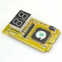TESTER MINI PCI-E depanare(diagnoza placa de baza, motherboard ) laptop