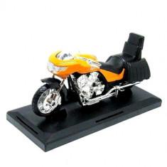 Motocicleta Motormax 1:18 Portocaliu