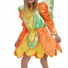 Costum pentru serbare Zana Fluturas 128 cm, Multicolor