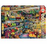 Cumpara ieftin Puzzle Grocery shop, 2000 piese, Educa