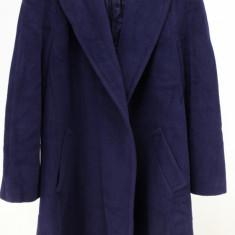 Palton Escada Margaretha Ley, indigo, 50% angora, 40% lana pura, 10% cashgora