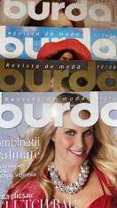 """LOT PATRU REVISTE de MODA ,,BURDA"""" /text in limba romana,tipare in continut.. foto"""