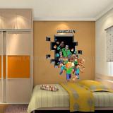 Sticker Minecraft Steve autocolant pentru perete