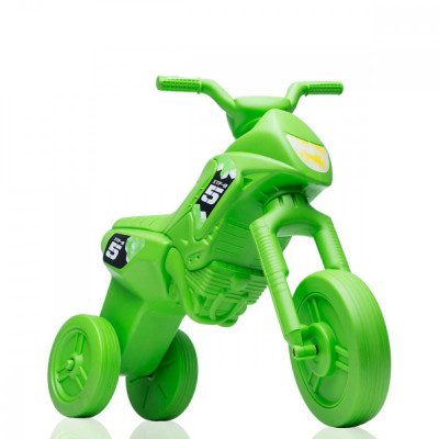 Tricicleta fara pedale Enduro - verde-verde foto