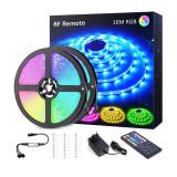 Banda LED RGB Novostela, 480 x LED, 16 m, 8 moduri iluminare, telecomanda