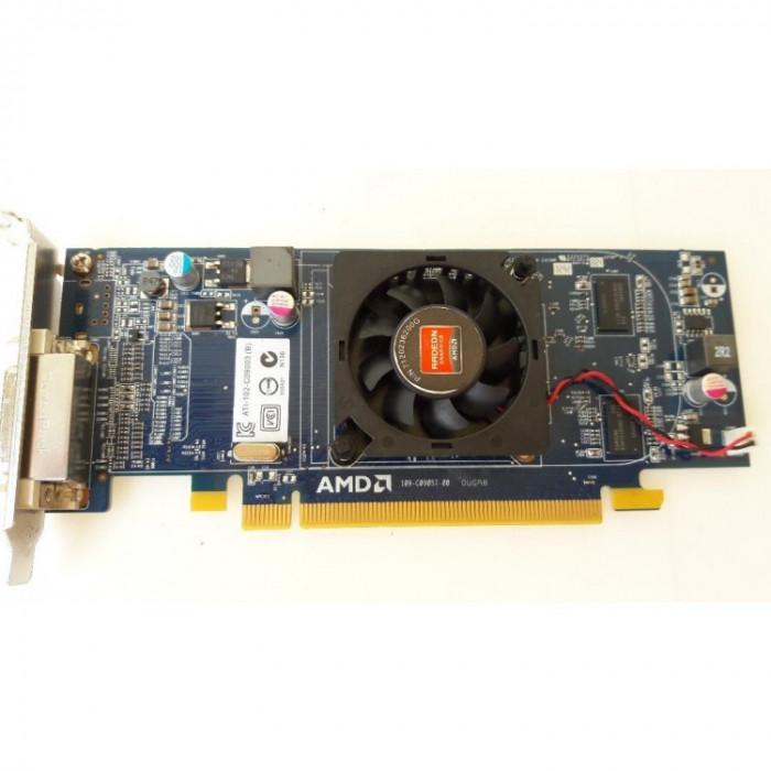 Placa video PCI-E ATI Radeon Card 6350 512MB, Low Profile + Cablu DMS-59 cu doua iesiri VGA