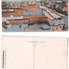Targu Mures 1915(aprox.) - Vedere de sus, ilustrata necirculata