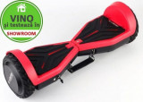 Scooter electric (hoverboard) AirMotion H1, Roti 6.5inch, Viteza 10km/h, Autonimie 12-18km, Motor 2 x 200W (Rosu)