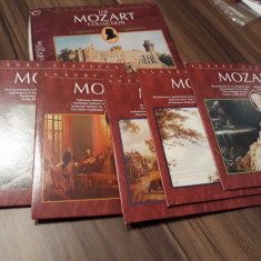 BOX SET 5 CD THE MOZART COLLECTION LUXURY CLASSICS 2005