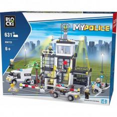 Joc constructie Blocki, Comisariat politie, 631 piese