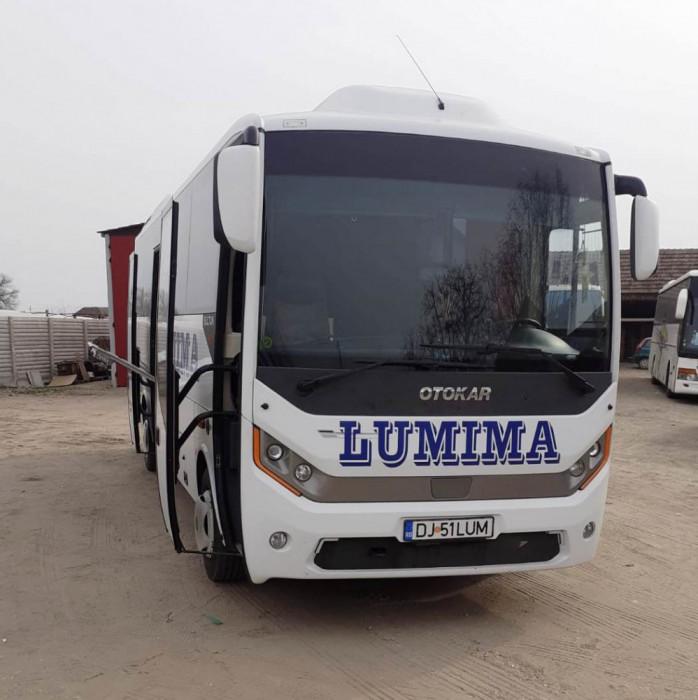 Autocar Otokar Sultan Mega, an 2018, clima, Euro 6, cat. I cu 36 locuri + 1