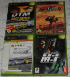 jocuri/joc XBox:DTM Race Driver ,M:I,MX Superfly,Mission Impossible 20 lei/buc