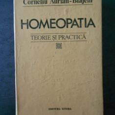 CORNELIU AURIAN-BLAJENI - HOMEOPATIA. TEORIE SI PRACTICA