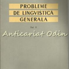 Probleme De Lingvistica Generala - Acad. Al. Graur - Tiraj: 2950 Exemplare